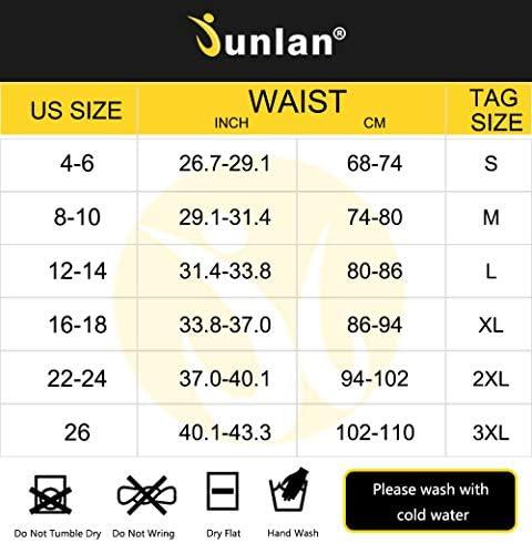 Junlan Neoprene Waist Trainer Vest for Women Corset Workout Body Shaper Cincher Sauna Sweat Tank Top Workout Girdle 7
