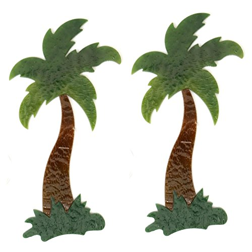 Palm Tree Fusible Pre-Cut 2 Pack - 90 Coe ()