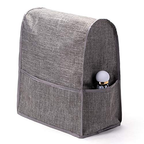 - Kitchen Aid Mixer Covers, Grey Heavy Duty Stand Mixer Dust-proof Cover, Compatible 4.5-6 Quart Kitchen Aid Mixer, Mixer Covers Fits All Tilt Head & Bowl Lift Models JJZ351