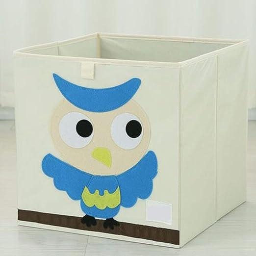 Caja de juguetes para niños, caja de juguetes Messela con tapa y ...