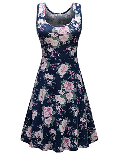 Herou Casual Tank Floral Dress for Women Flower-20 Large]()