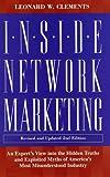 Inside Networking Marketing, Leonard W. Clements, 0761521763