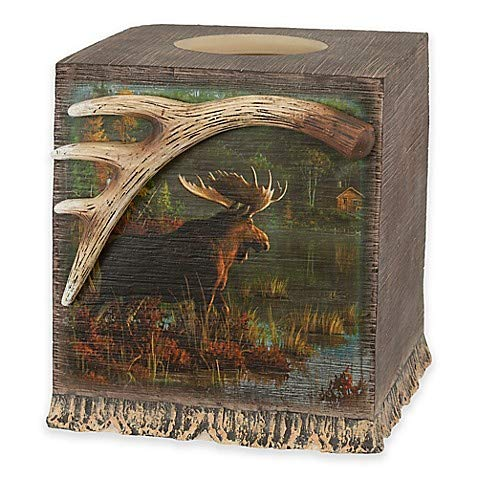 Back Bay Moose Boutique Tissue Box Cover - Moose Tissue Boxes