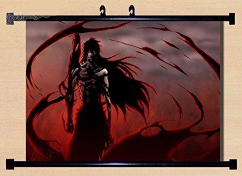 Bleach Anime Ichigo Fabric Wall Scroll Poster