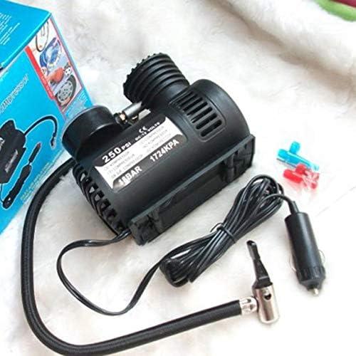 Schwarz Goldyqin 12V Auto Micro Reifen Luftpumpe Mini tragbare Fahrzeug elektrische Luftpumpe
