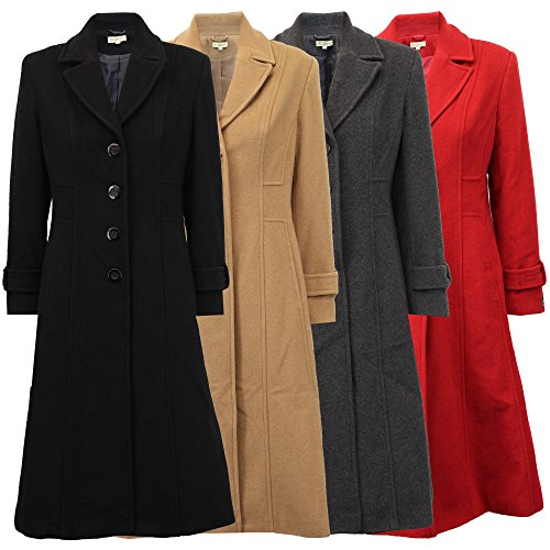 Trench Jacket Cashmere Coat Womens Lined Wool Winter Overcoat Ladies WOLP6030 Outerwear Camel wxqICY5n