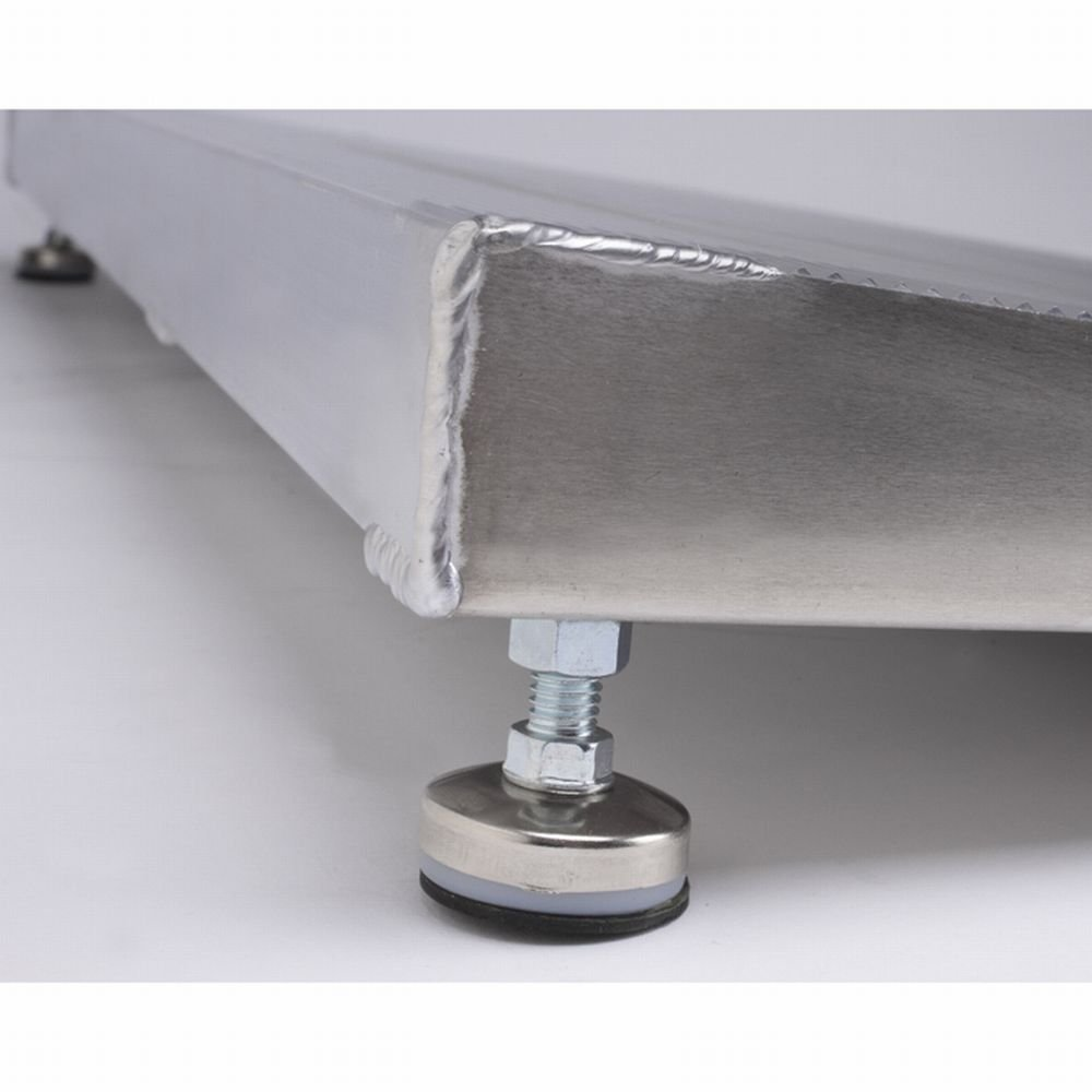 PVI ELEV8 Adjustable Leg Aluminum Threshold Ramp, 12'' x 32'' 800 lb Capacity