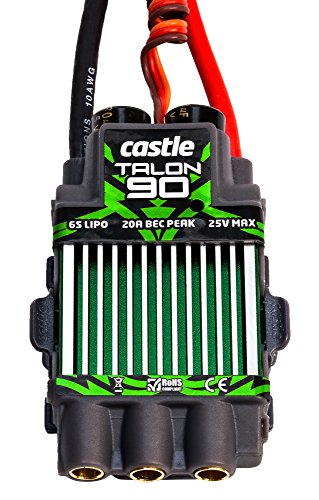 Castle Creations Talon 90 Amp Electronic Speed Controller with Heavy Duty BEC ()