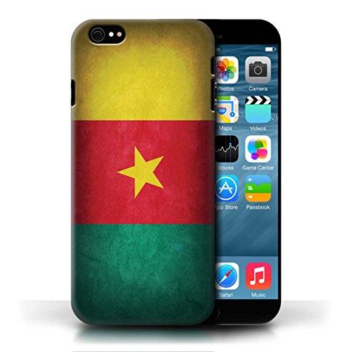 Etui / Coque pour Apple iPhone 6/6S / Cameroun conception / Collection de Drapeau