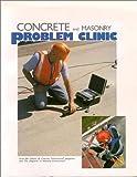 Concrete and Masonry Problem Clinic, , 0924659394