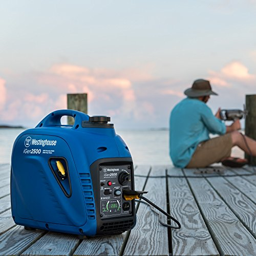 Westinghouse iGen2500 Portable Inverter Generator - 2200 Rated Watts & 2500 Peak Watts - Gas Powered - CARB Compliant by Westinghouse (Image #9)