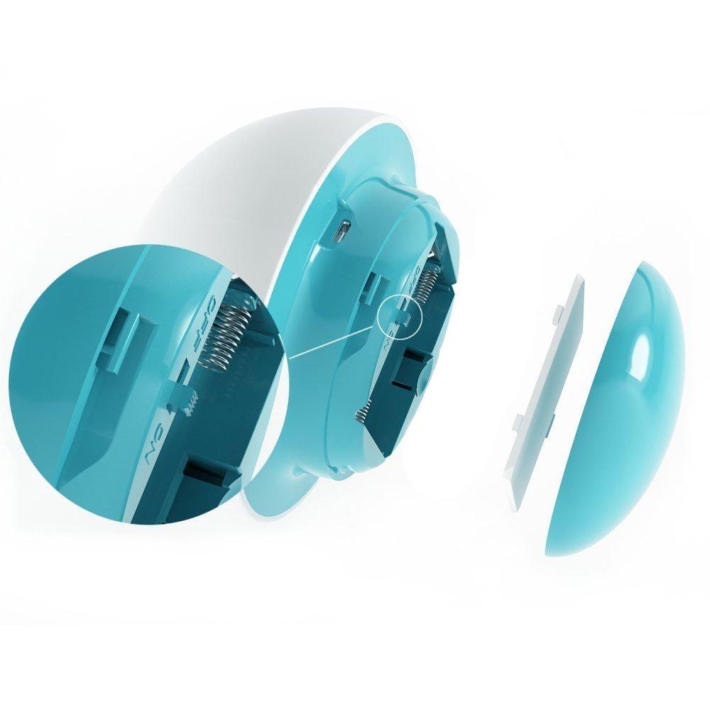 Auraglow - inalámbrica, batteriebetriebenes LED de luz nocturna/luz de ambiente con cambio de color/Puerto USB, tacto suave: Amazon.es: Iluminación