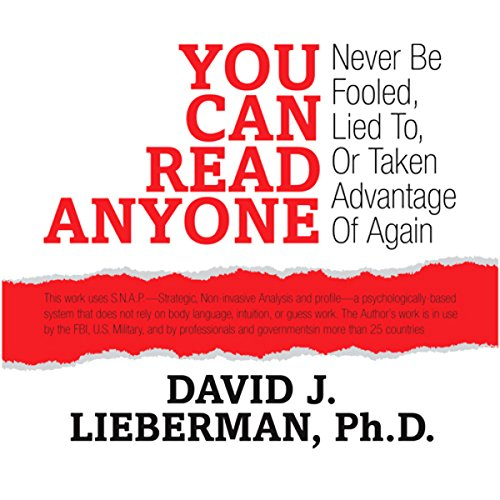 You Can Read Anyone: Never Be Fooled, Lied to, or Taken Advantage of Again Audiobook [Free Download by Trial] thumbnail