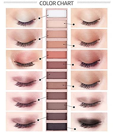 Amazon Casa Shop 2017 Cosmetic Makeup Shimmer Matte Make Up