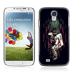 Designer Depo Hard Protection Case for Samsung Galaxy S4 / Colorful Astronaut In rain
