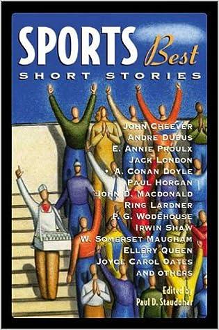 Sports Best Short Stories (Sports Short Stories (Hardcover