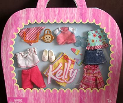 Amazon Com Barbie Kelly Summer Play Clothes Fashion Pack 2004 Toys