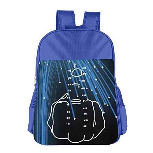 middle-finger-fck-your-energy-kids-school-backpack-bag-royalblue