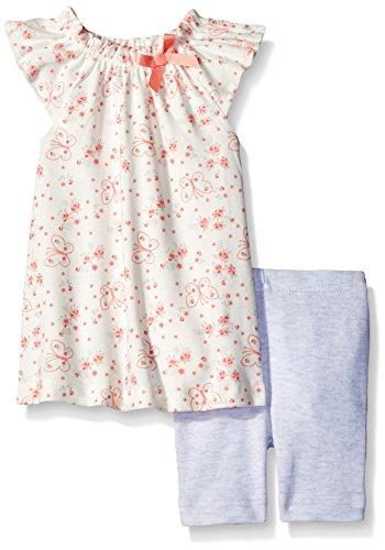 Butterflies Capri Girls Baby Clothes - 5