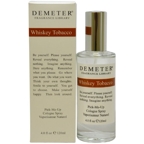 Demeter Whisky Tabacco Cologne Spray for Women, 4 Ounce