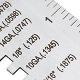 Wire/Metal Sheet Thickness Gauge 14 16 18 20 22 24