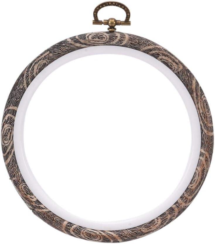per cucire ricamo cerchio da ricamo efficiente in legno resistente Anello a punto croce