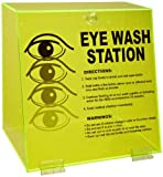 """Product review for Brady PD997E 10"""" Height, 10-1/4"""" Width, 7"""" Depth, Acrylic, Black On Fluorescent Green Color Double Bottle Eye Wash Station"""