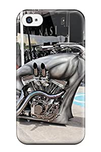 Awesome Custom Motorcycle Flip Case With Fashion Design For Iphone 4/4s
