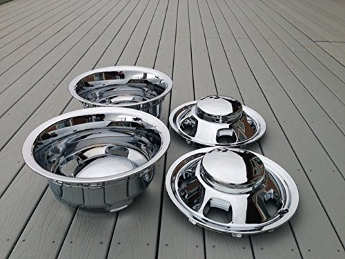 2003-2015 Dodge 3500 Dually Wheel Simulators and Center Caps