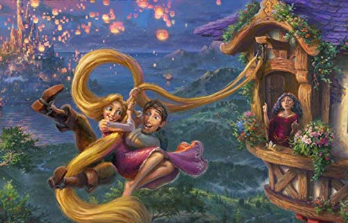 Thomas Kinkade - The Disney Collection - Tangled Puzzle - 750 Pieces