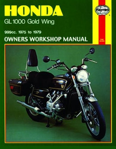 amazon com haynes honda goldwing shop manual 309 automotive rh amazon com 1980 Honda GL1100 Goldwing 1978 Honda Goldwing