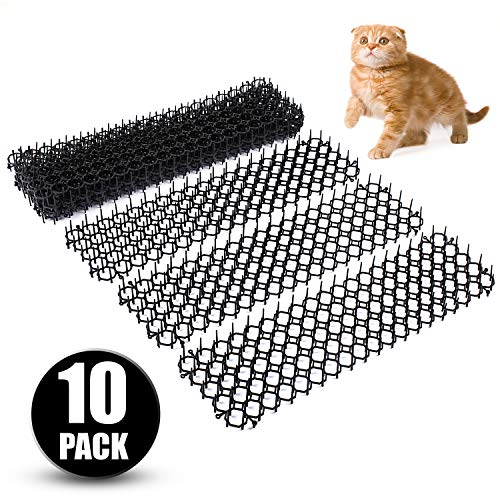 Abco Tech Cat Scat Spike Mat – Gently Deters Pet – Non-Toxic Pet Repellent Mat – Humane & Effective Solution – Easy to Install