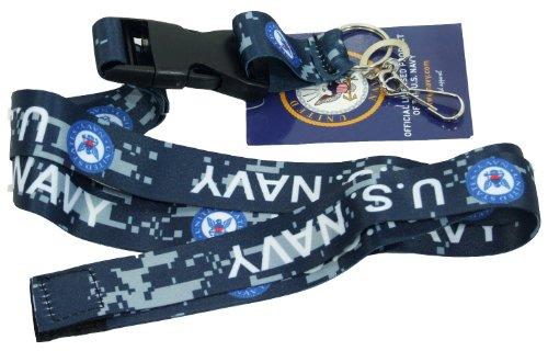 WTD Military Lanyard (Navy, Navy Camo)