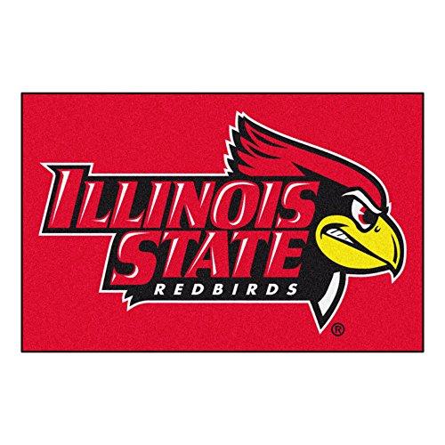 (FANMATS NCAA Illinois State University Redbirds Nylon Face Starter Rug)