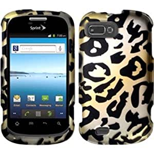 Rubberized Design Case Cover For ZTE Valet Z665c / ZTE Fury N850 / Director N850L - Cheetah
