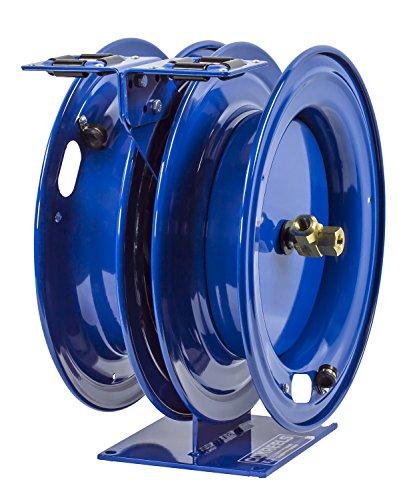 Spring Reel Rewind (Coxreels C-LPL-350-350 Dual Purpose Spring Rewind Hose Reel for air/water/oil: 3/8
