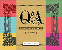 qa a day for writers 1 year journal