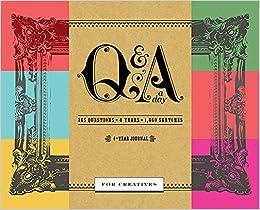qa a day for creatives a 4 year journal