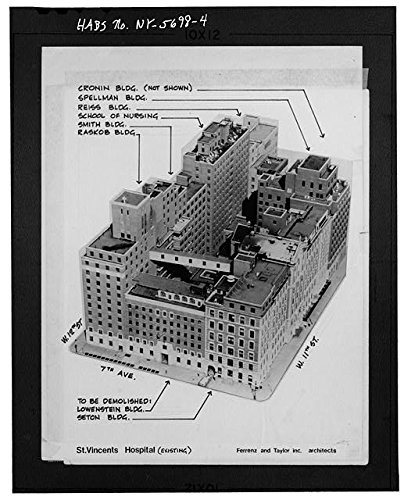 HistoricalFindings Photo: St. Vincents Hospital Complex,153 West 11th Street,New York