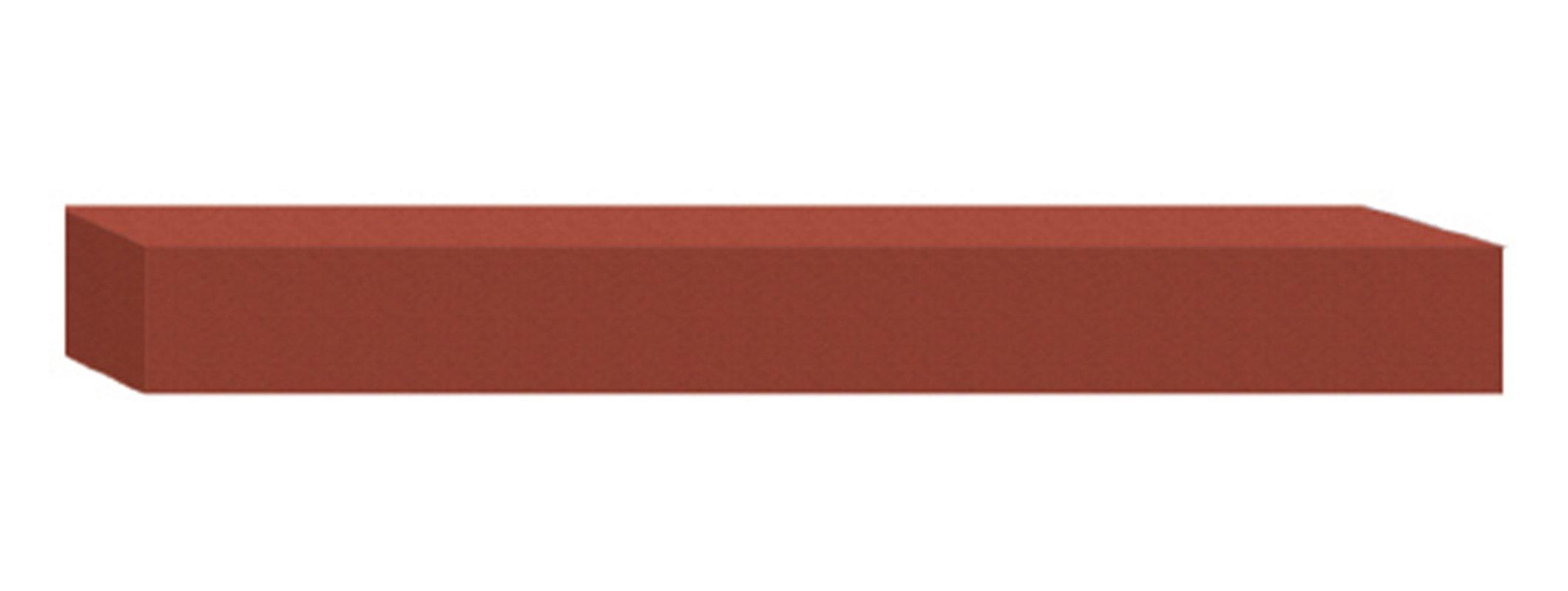 Dedeco 0233 Rubberized Abrasive Block//Stick Medium Silicon Carbide 6 x 5//16 Round Green