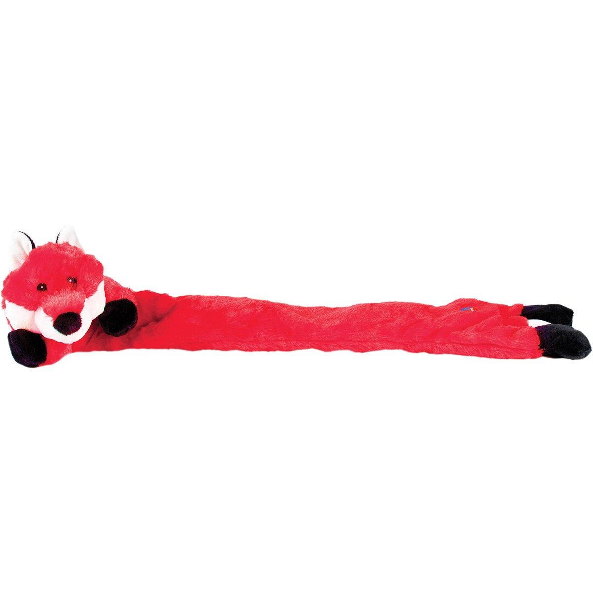 Charming Pet Longidudes Pet Squeak Toy, Fox