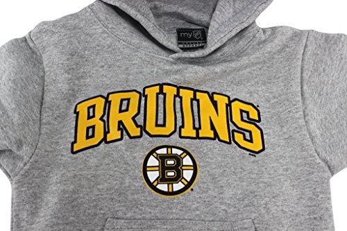 Amazon.com  Outer Stuff Boy s NHL Boston Bruins Hockey Hoodie Grey  Clothing dfc775e96a0
