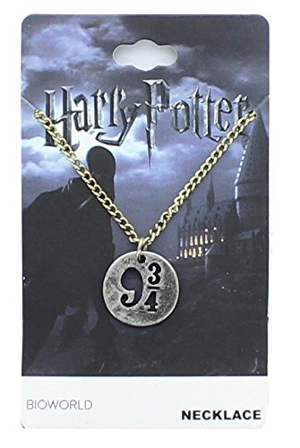 Harry Potter 9 3/4 Cut Out Charm Necklace