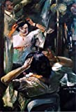 Art Oyster Lovis Corinth at The Mirror - 18.1'' x 27.1'' 100% Hand Painted Oil Painting Reproduction