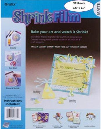 Shrink Film Matte 10 Sheets 5.5