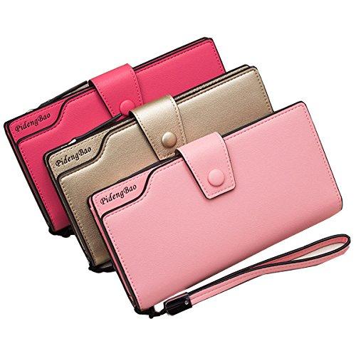 6 TENGGO Titulaires Téléphone Portable inch Rouge 11 De Pochette PU Crédit Bleu Femmes Carte De Pochette Pochette Cuir rz0Erqw