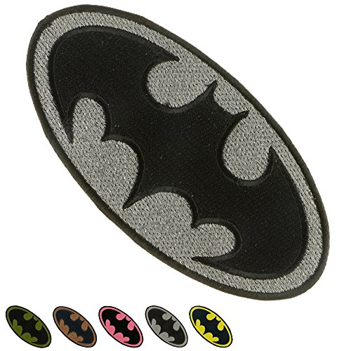 Iron Sew on Applique Patch : BATMAN Super Hero (Patch Sew Iron)