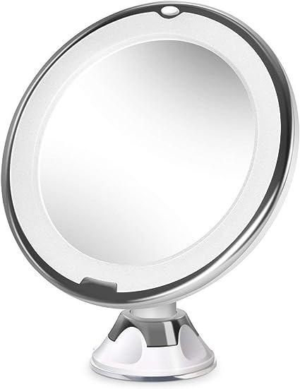Miroir Maquillage Lumineux Miroir De Rasage Avec Support