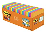 #7: Post-it Super Sticky Notes, 3 in x 3 in, Rio de Janeiro Collection, 24 Pads, 70 Sheets/Pad, Cabinet Pack (654-24SSAU-CP)