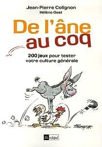 De l'âne au coq par Colignon